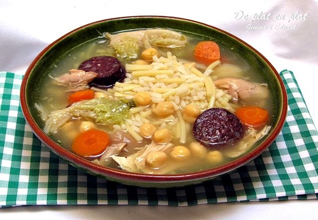 De plat en plat escudella barrejada - Vedella amb bolets olla express ...